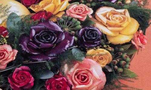 Un énorme succès : Roses en cire, Hogewoning Chine 1992